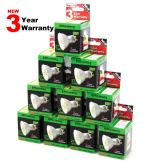 10 Pack of SuperLED GU10 27 SMD Warm 3 Year Warranty